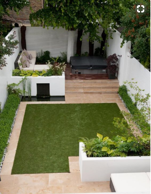 Bedwelming Inspiratie: 10 mooiste (kleine) tuinen van Instagram - Carlounge @UN53
