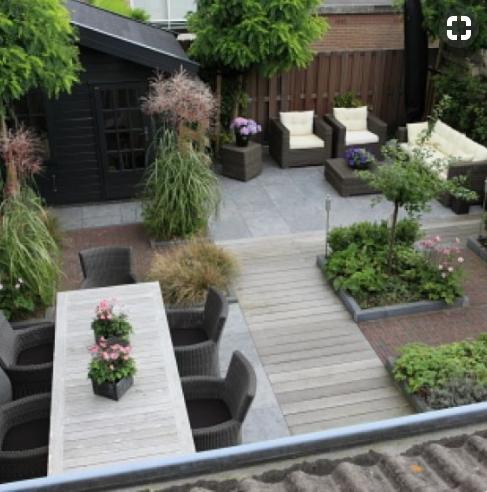 Inspiratie 10 mooiste kleine tuinen van instagram for Tuin inspiratie modern